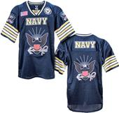 Rapid Dominance Navy Military Football Jersey