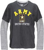 Rapid Dominance Highlight Double Layer Army Tee