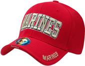 The Legend Marines Text Military Cap