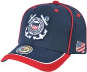 Rapid Dominance Piped Coast Guard Military Cap