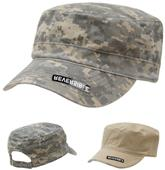Rapid Dominance Reversible Camo Flat Top Caps