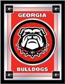 Holland University of Georgia Bulldog Logo Mirror