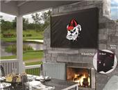 Holland Univ of Georgia Bulldog Logo TV Cover