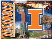 Holland University of Illinois Printed Canvas Art