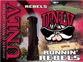 Holland UNLV Rebels Printed Canvas Art