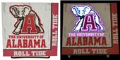 Illumasport Univ of Alabama Light Up Car Sticker