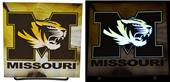 Illumasport Univ of Missouri Light Up Car Sticker