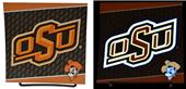Illumasport Oklahoma State Light Up Car Sticker