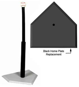 BLACK HOME PLATE REPLACEMENT