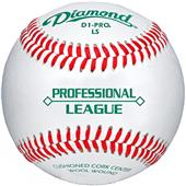 Diamond Professional League Low Flat Seam Baseball