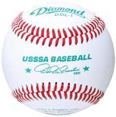 Diamond DOL-1 USSSA Approved Raised Seam Baseballs