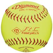 Diamond RC Fastpitch ASA Red Stitch Softballs