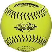Diamond Black Stitch NSA Flyer Fastpitch Softballs