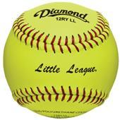 "Diamond 12RY LL 12"" Little League Softballs"