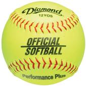 Diamond Official Game Economy Raised Seam Softball