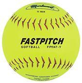 "Markwort 11"" Genuine Leather Fastpitch Softballs"