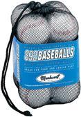 Markwort One Dozen S92 Baseballs in Mesh Bags