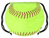Image Sport Softball Shaped Backpack