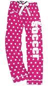 Image Sport Soccer Polka Dot Flannel Pants