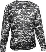 Badger Sport Adult/Youth Digital Camo L/S Tee