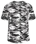 Badger Adult/Youth Short Sleeve Camo Tee Shirt