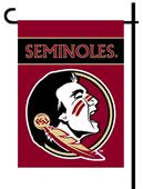 "Florida State 2-Sided 13"" x 18"" Garden Flag"