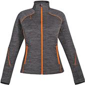 North End Sport Flux Ladies' Mélange Bonded Jacket