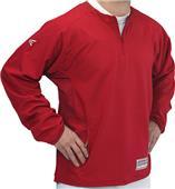 "Easton Adult M9 6"" Zip L/S Cage Baseball Jacket"