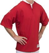 """Easton Adult M9 6"""" Zip S/S Cage Baseball Jacket"""