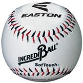 Easton White/Neon Soft Touch Practice Baseballs DZ