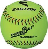 Easton White/Neon Soft Stitch Practice Baseballs
