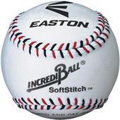 Easton White/Neon Soft Stitch Practice Baseballs