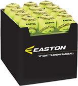"Easton 10"" Neon Soft Training Baseballs (36PK)"