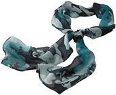 Edwards Womens Silk Chiffon Splatter Floral Scarf