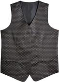 Edwards Womens Diamonds & Dots Brocade Vests