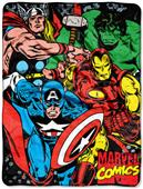 Northwest Avengers We Fight Micro Raschel Throw