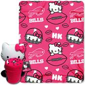 NFL Buffalo Bills/Hello Kitty Hugger Throw