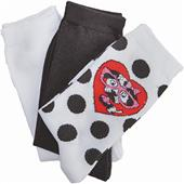 Cherokee Spotty Dotty Womens Assorted Socks 3PK