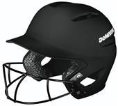 DeMarini Paradox Softball Batting Helmet W/SB Mask