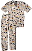 Tooniforms Kids Mickey He's Got Attitude Scrub Set