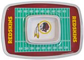 NFL Washington Redskins Chip & Dip Tray