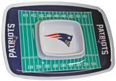 NFL New England Patriots Chip & Dip Tray