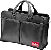 Rawlings Premium Heart/Hide Blk Leather Briefcase