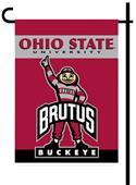 "Ohio State Buckeyes 2-Sided 13"" x 18"" Garden Flag"