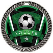 Hasty Crest Medal Soccer Varsity Insert