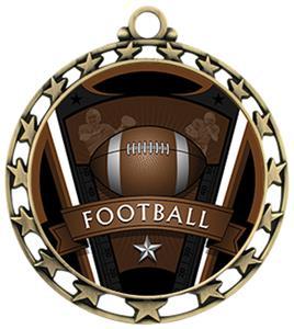 Hasty Award Custom Football Varsity Insert Medal M-4401