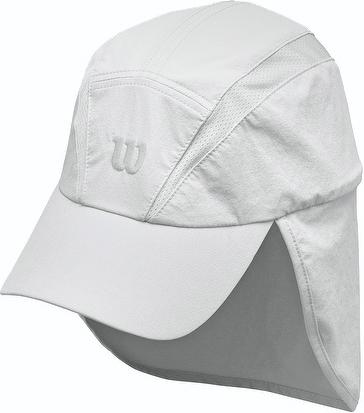 Wilson Tennis Adult Rush Neck Cover Ball Cap  2aba3c81699