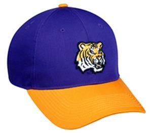 OC Sports College LSU Tigers Baseball Cap - Closeout Sale - Fan Gear 916c8dc0981