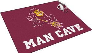 Fan Mats NCAA Arizona State Man Cave All-Star Mat