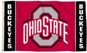BSI Products NCAA Ohio State Buckeyes 3' x 5' Flag